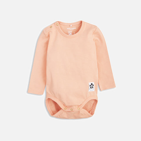Organic Basic LS Body - Pink - 0m-2y