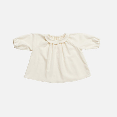Organic Cotton Agatha Tunic - Natural Twill - 1-2y