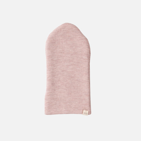 Merino Seamless Beanie - Dusty Rose - 1-6y