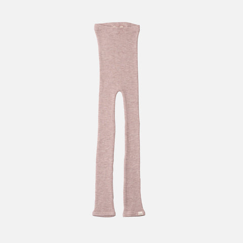 Merino Arona Seamless Pants - Dusty Rose - 1-10y