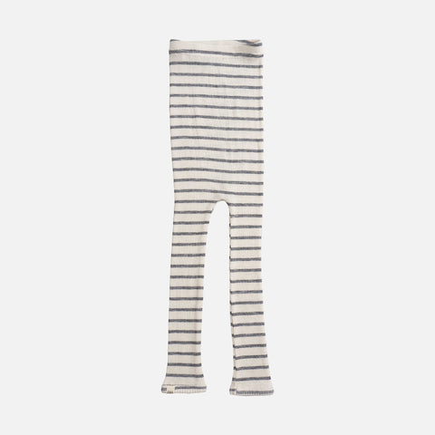 Merino Seamless Pants - Grey Stripe - 4-6y