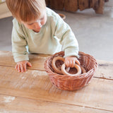 Little Wooden Hoops - 3 Pieces