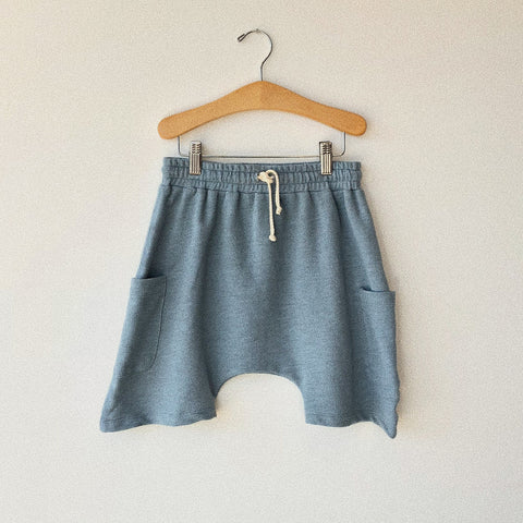 Cotton Basketball Shorts - Dandelion - 2-10y