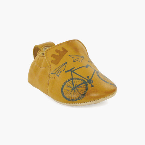 Eco baby First Shoe/Slipper -  BLUBLU bike - 18-23