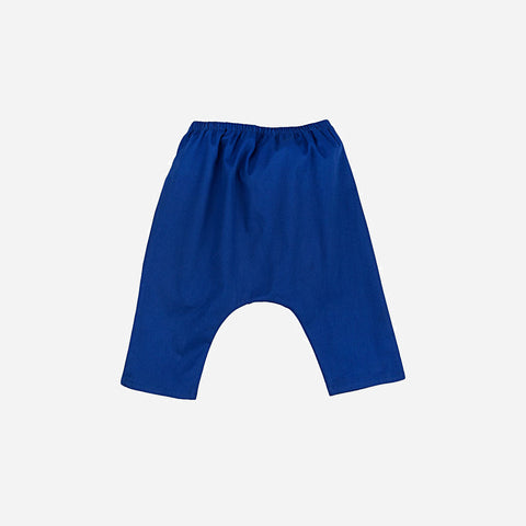 Arniko Cotton Sarouel Pants - Ultramarine - 3-6y