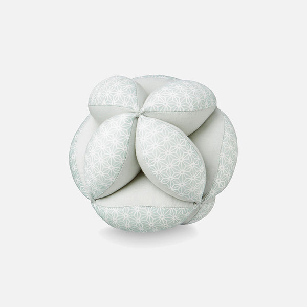 Organic Baby Grab Ball - Mint