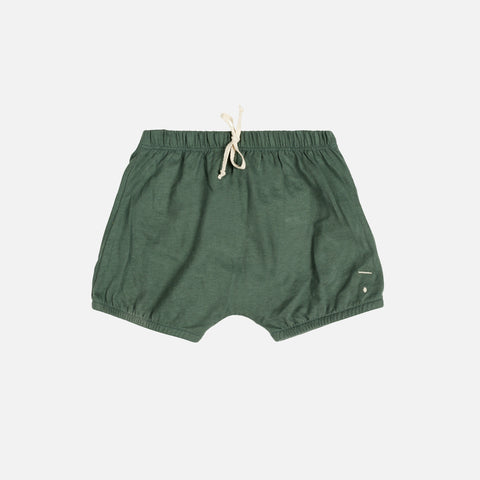 Organic Cotton Baby Bloomers - Sage - 1-12m