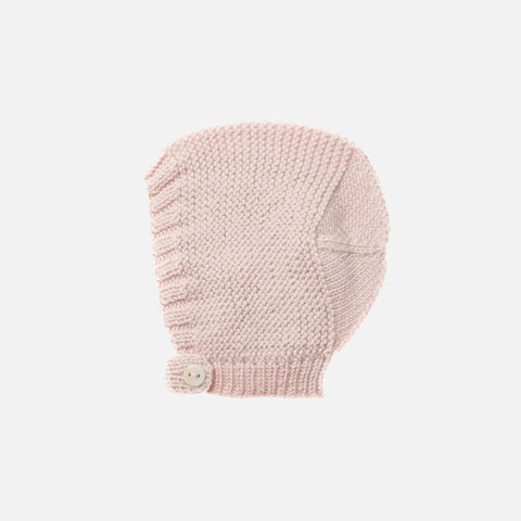 Exclusive Hand-Knit Merino Beach Walk Bonnet - Dune - 6m-2y