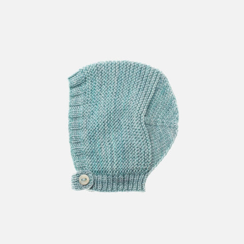 Exclusive Hand-Knit Merino Beach Walk Bonnet - Sage - 0m-4y