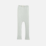 Silk/Cotton Rib Pants - Aqua - 1m-6y