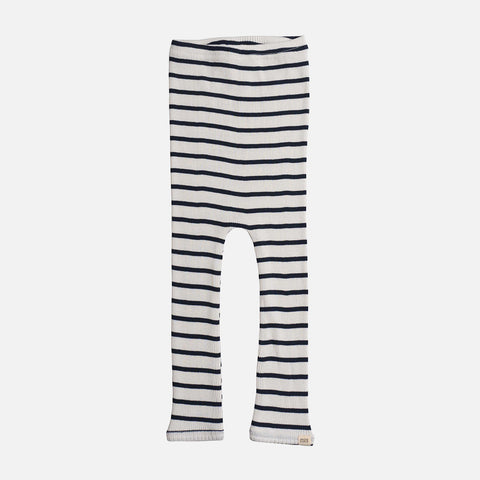 Silk/Cotton Rib Pants - Navy Stripe - 6m-6y