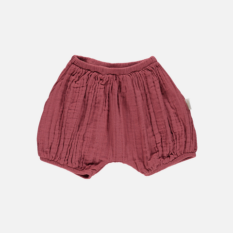 Organic Cotton bloomers - Brique - 3-24m