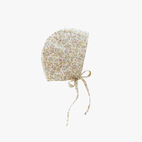 Cotton Liberty Bonnet - Aster - 0m-4y