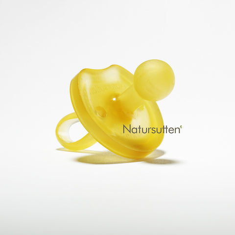 Natural Rubber Soother/Pacifier - Butterfly - Round