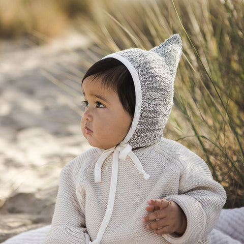 Cotton Bébé Terry Bandit Bonnet