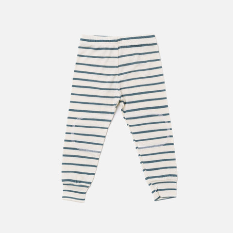 Merino Top & Bottoms Set - Sea Pine Stripe - 2-10y