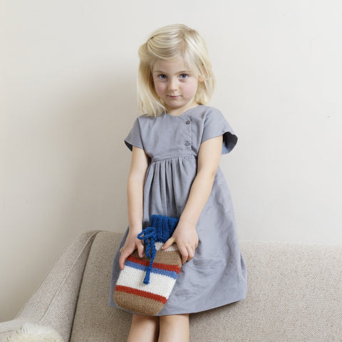 Organic cotton twill - Loli dress 6m-2y