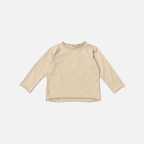 Organic Cotton LS Elas Tee - Powder - 6m-8y