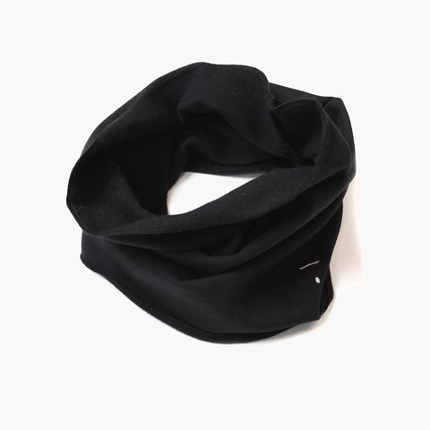 Organic Endless Scarf - Nearly Black - One Size