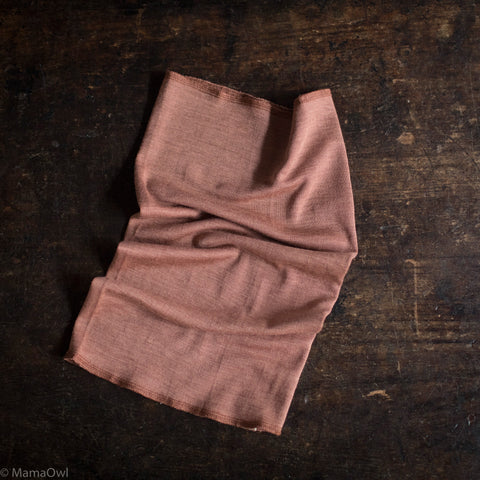 Exclusive Kids Organic Silk & Merino Snood - Rosewood