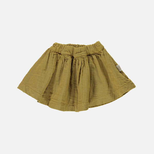 Organic Cotton Short Skirt - Cassonade - 10y