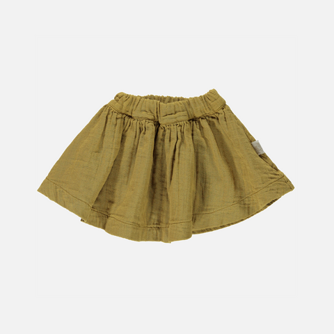 Organic Cotton Short Skirt - Cassonade - 12m-10y