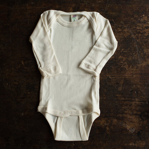 Organic Cotton Body - Natural - 0m-3y