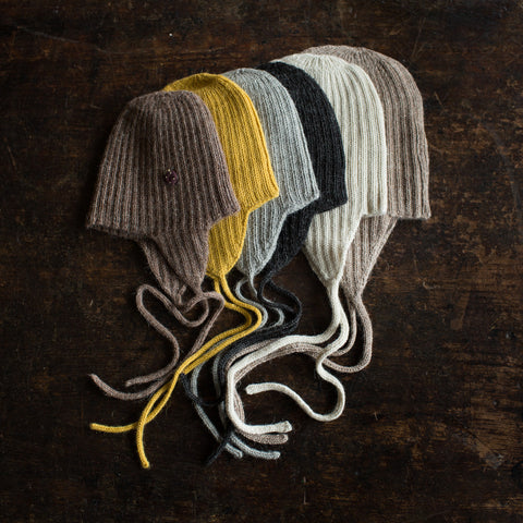 Alpaca String Hat - Charcoal - 1-2y