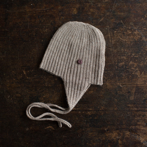Alpaca String Hat - Pebble