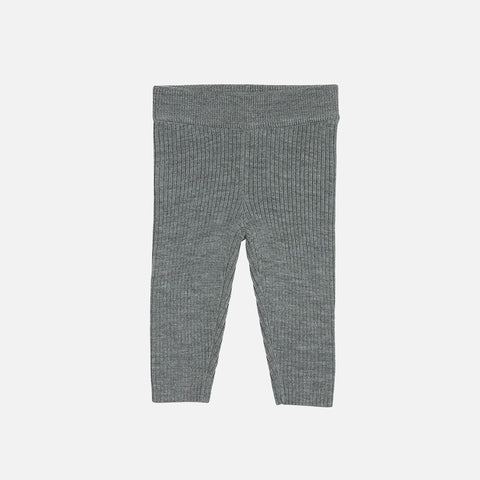Soft Merino Leggings - Grey - 0m-2y