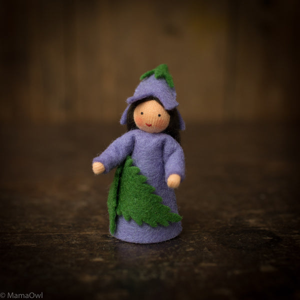 Handmade Wool Fairy - Bluebell