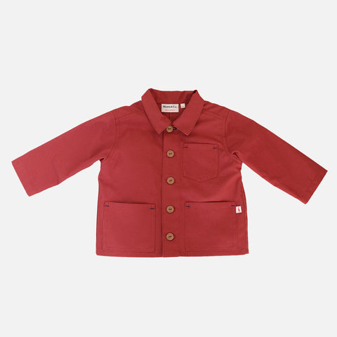 Cotton Foundry Jacket - Brick