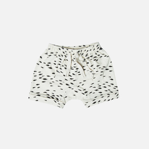 Cotton Fish Pouch Short - Ivory - 2-9y