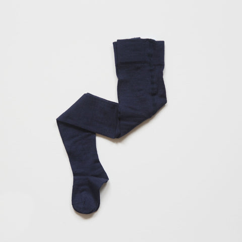 Last few! Organic Merino/Cotton Tights - Rose, chocolate, red or navy- 0m-9y