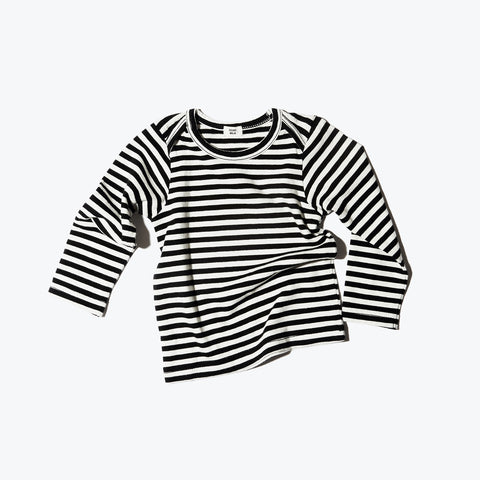 Organic Baby Top - Stripe - 6-24m