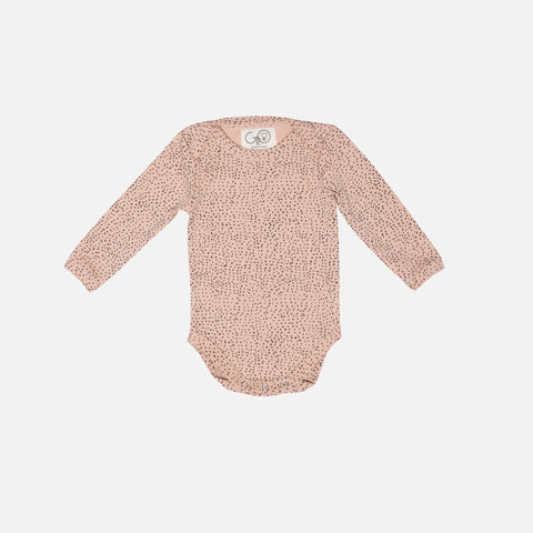 Cotton Body Dots - Nude - 0-2y