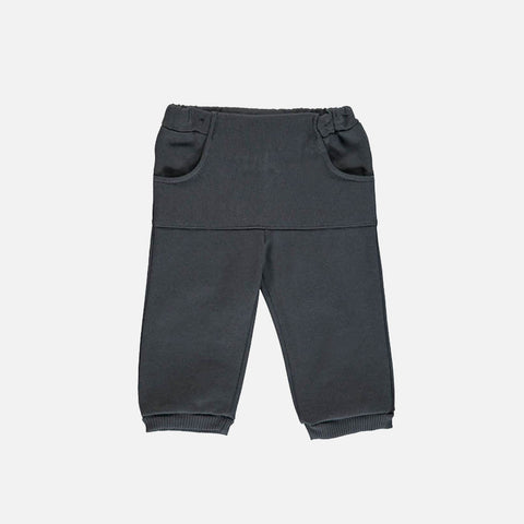 Kansas Baby Pants - Dark Grey - 6m-2y