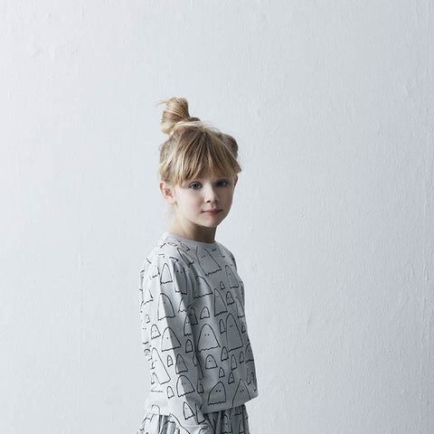 Cotton Ghost Sweater - Salt Sea - 3-7y