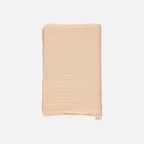 Soft Organic Cotton Swaddle/Blanket - Apple Blossom