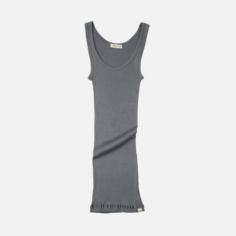 69dafc6d5c8 Sold out Adult Silk/Cotton Rib Tank Top - Stone ...