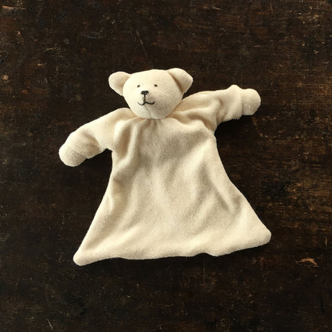 Organic Cotton/Wool Soft Polar bear Comforter