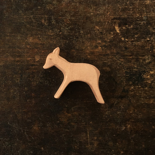 Handcrafted Small Standing Deer
