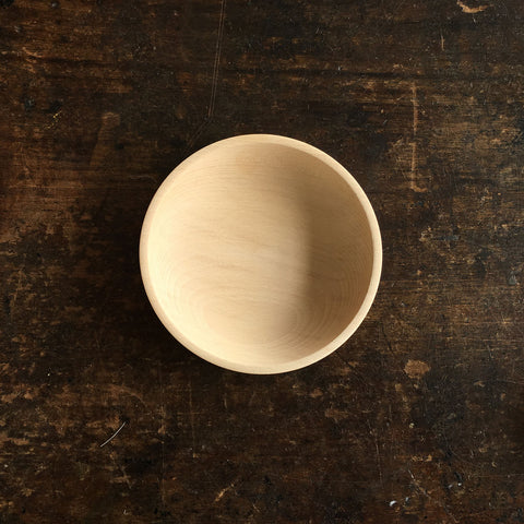 Baby Bowls in Natural Wood - Two Sizes