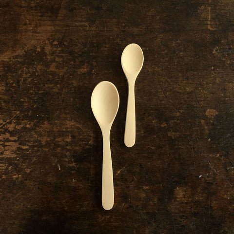 Baby and Child's Natural Wood Spoons
