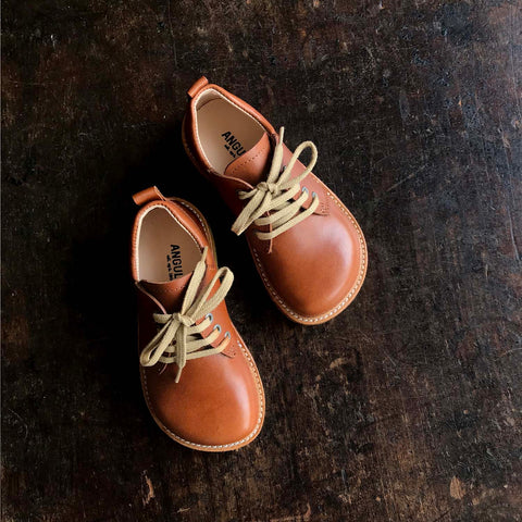 MamaOwl Lace Shoe - Tan