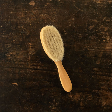 Baby and Kid's Natural Wood Hair Brush