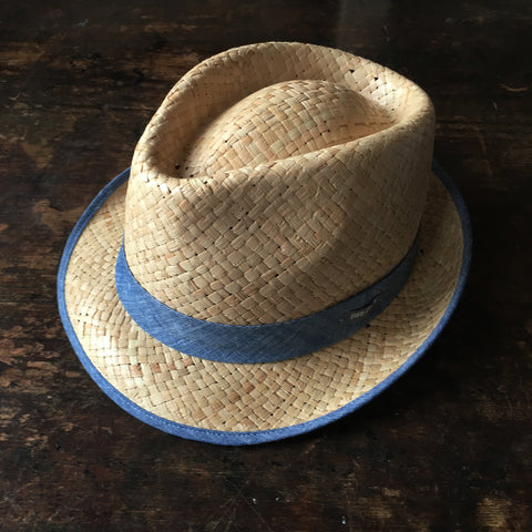 Straw Hat  - Natural - 3-4y