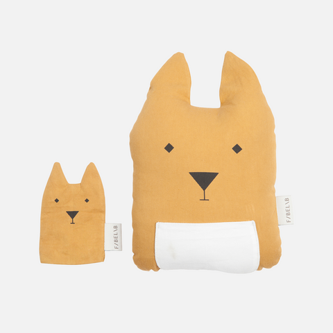 Organic Cotton Animal Friends - Kangaroo & Joey