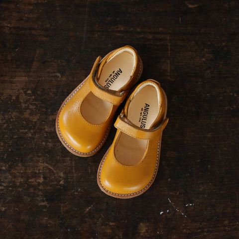 Mary Jane Shoe - Mustard