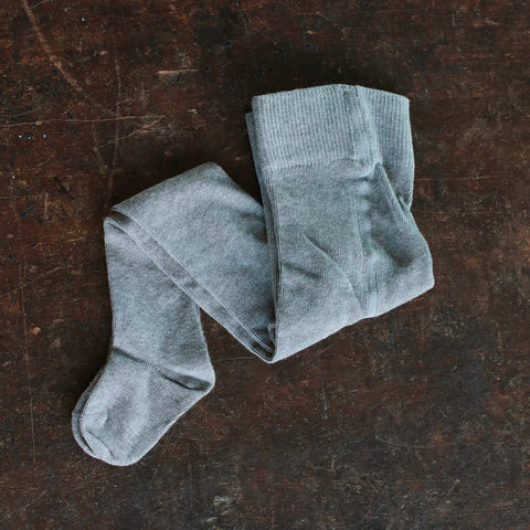 Organic Cotton tights - Grey - 0m-10y